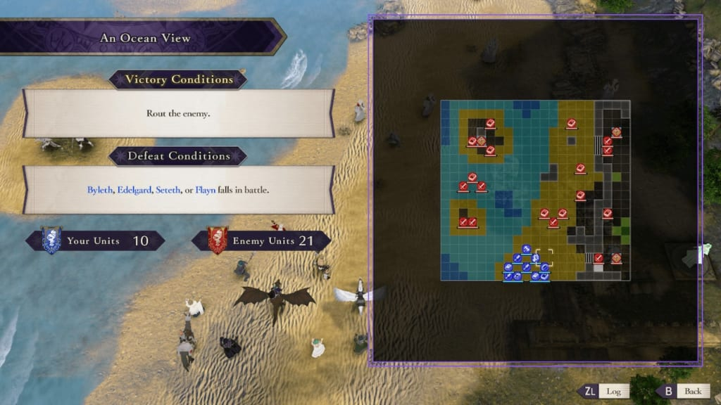 Fire Emblem: Three Houses - Conditions and Battlefield Information (Battle System Guide)