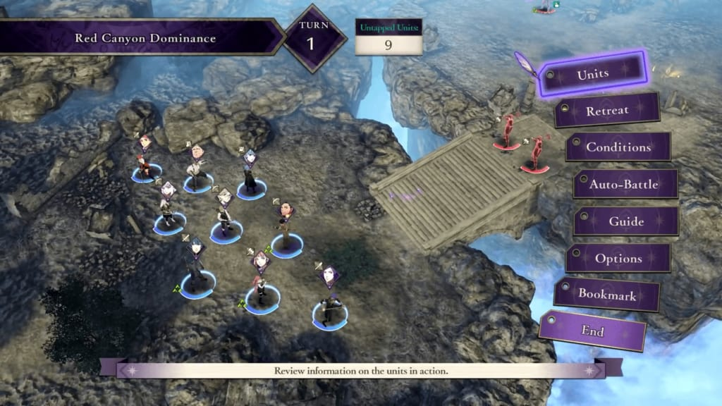 Fire Emblem: Three Houses - Starting Turn (Battle System Guide)