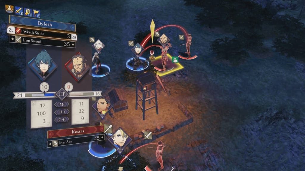 Fire Emblem: Three Houses - Skirmish at Dawn