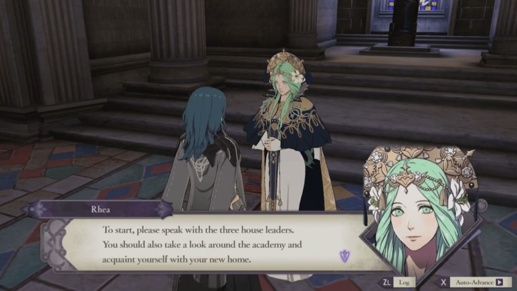 Fire Emblem: Three Houses - Part 1 Chapter 1