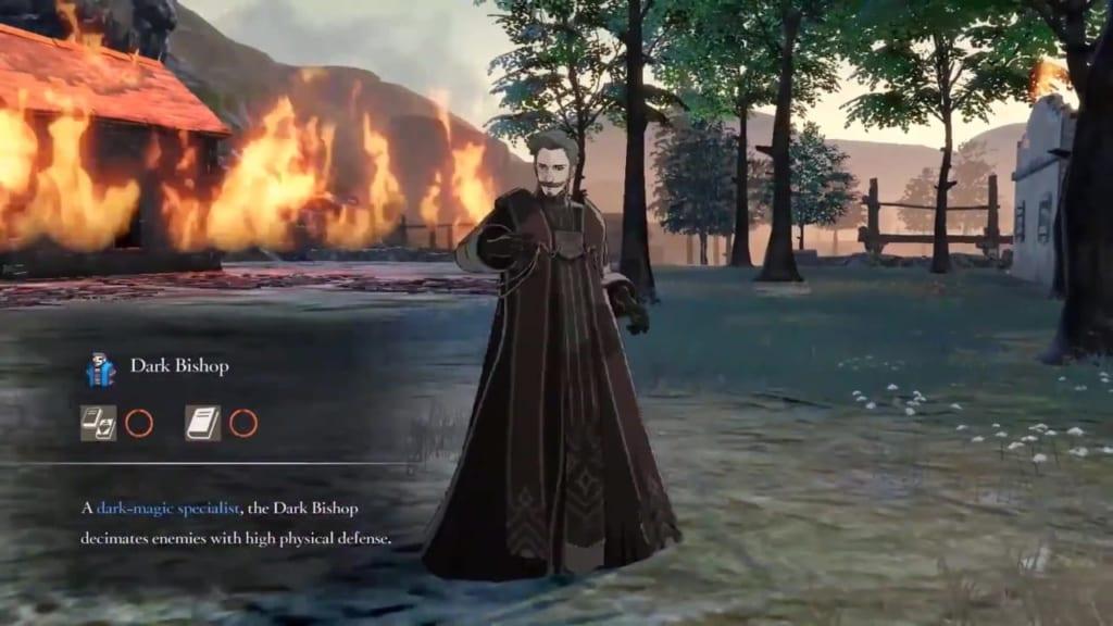 Fire Emblem: Three Houses - Dark Bishop Class