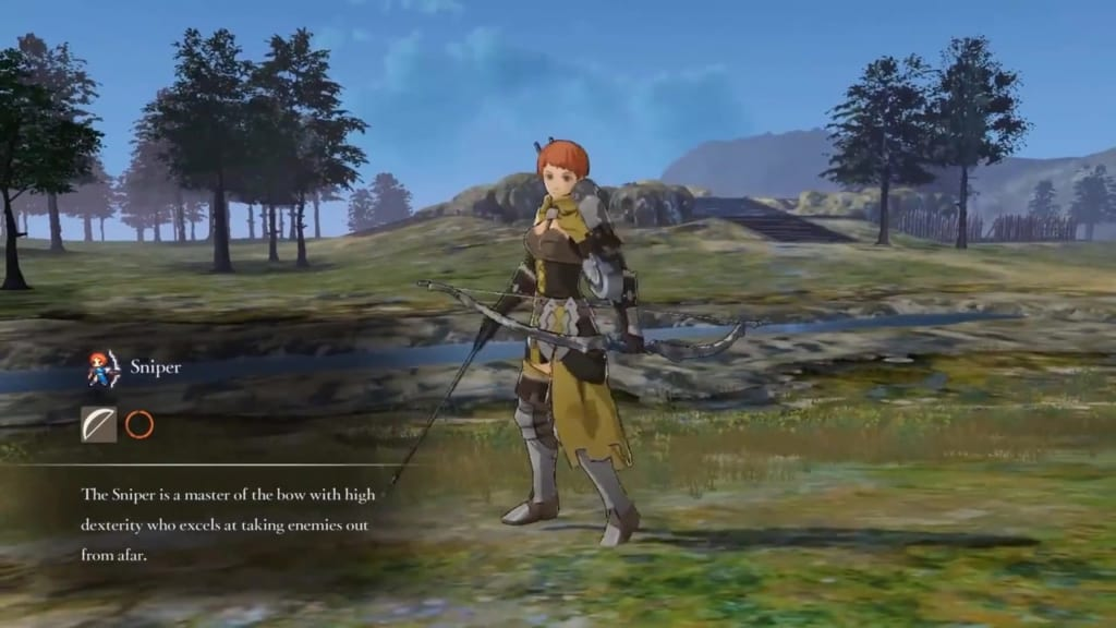 Fire Emblem: Three Houses - Sniper Class