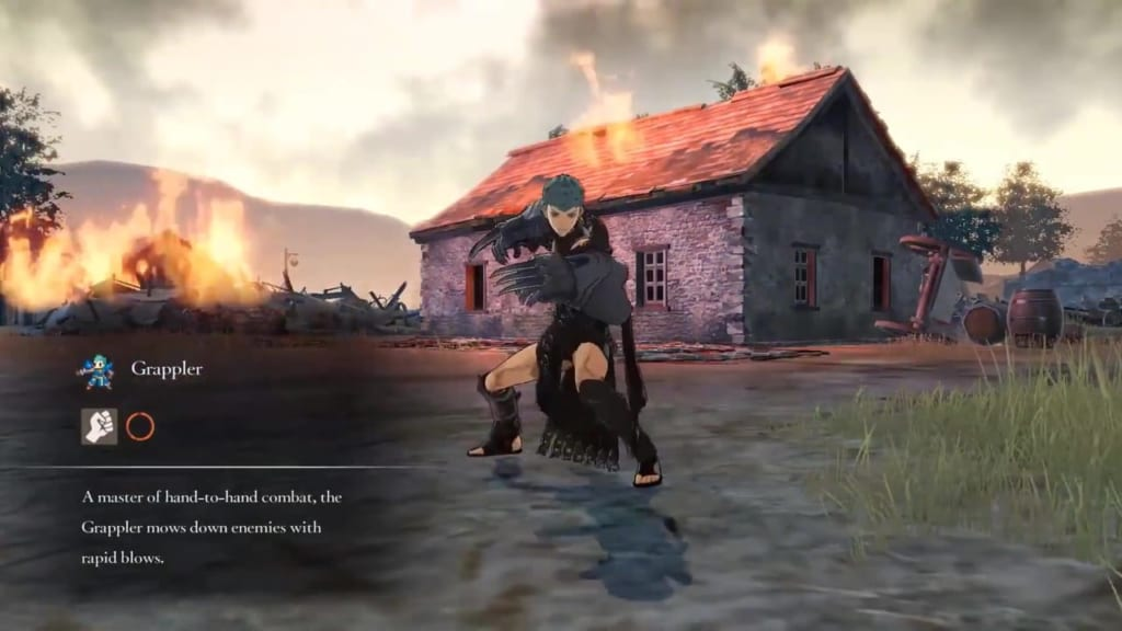 Fire Emblem: Three Houses - Grappler Class