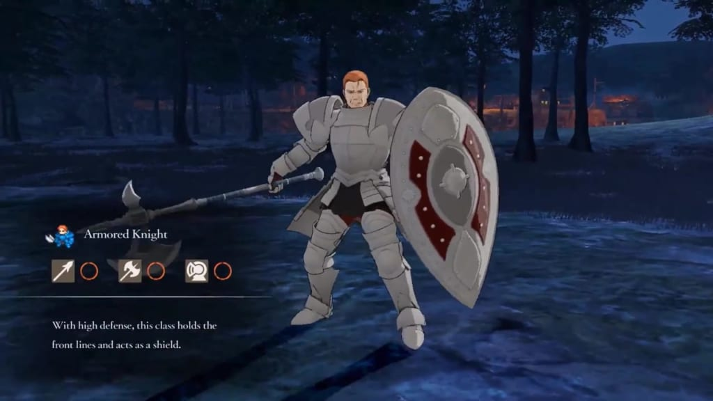 Fire Emblem: Three Houses - Armored Knight Class