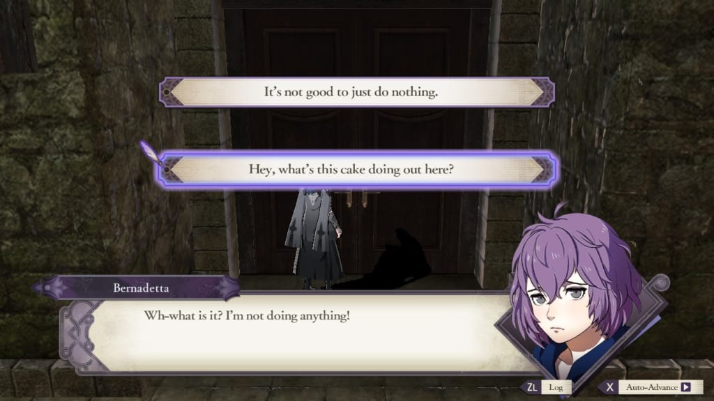 Fire Emblem: Three Houses - Free Exploration Dialogue Choices