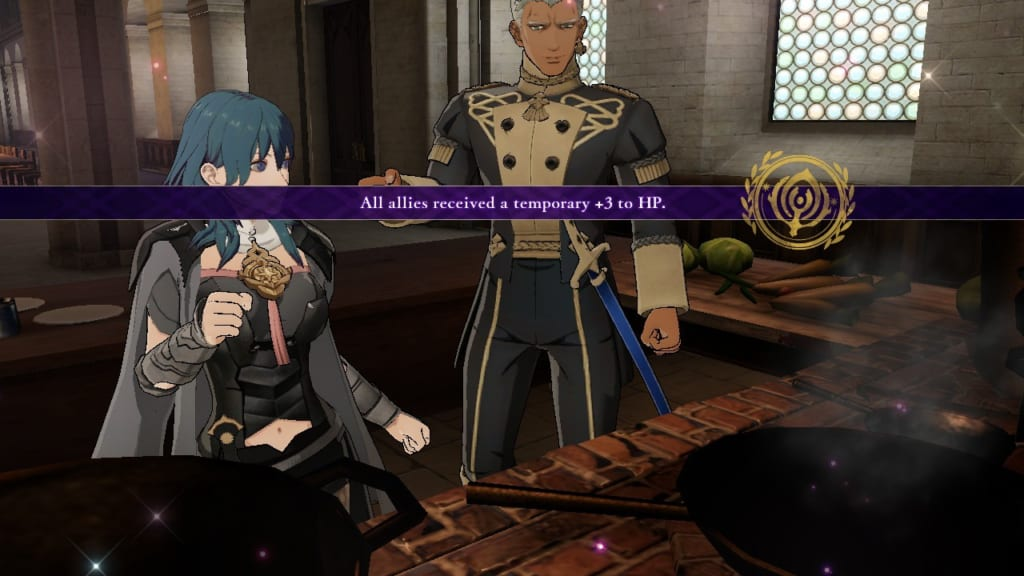 Fire Emblem: Three Houses - Cooking Together