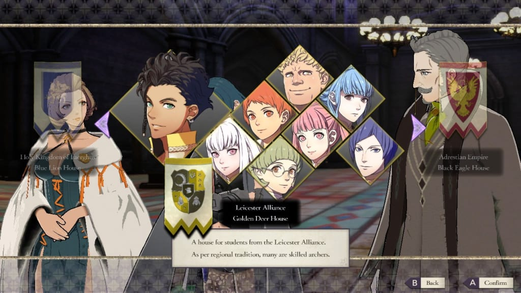 Fire Emblem: Three Houses - Choosing Golden Deer House