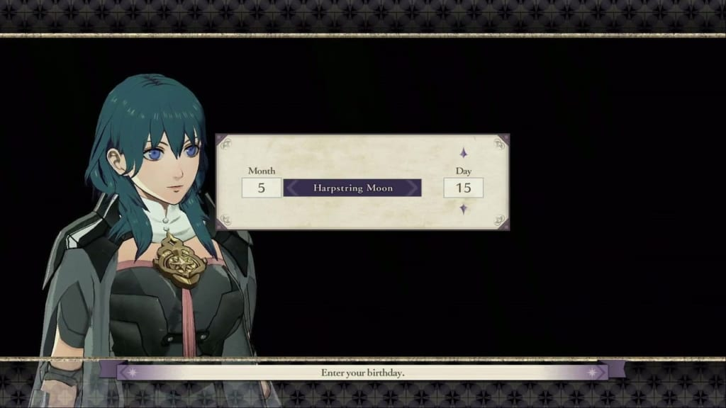 Fire Emblem: Three Houses - Byleth's Birthday