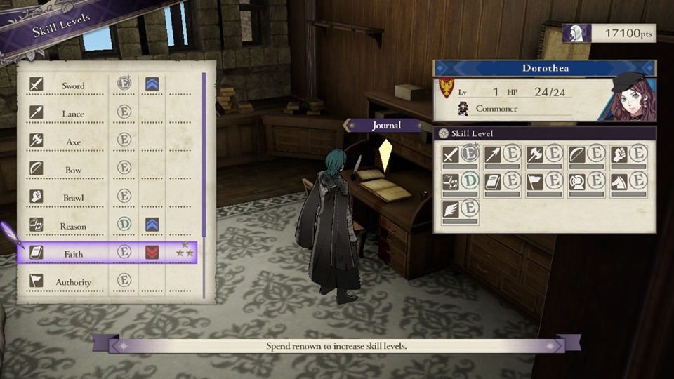 Fire Emblem: Three Houses - New Game+' Skill Levels
