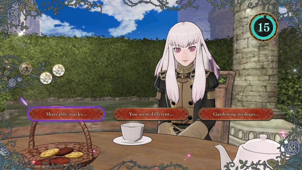 Fire Emblem: Three Houses - Lysithea Tea Party Topics