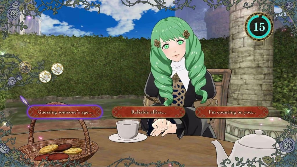 Fire Emblem: Three Houses - Flayn Tea Party Topics