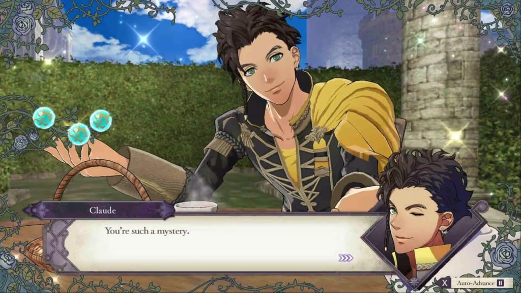 Fire Emblem: Three Houses - Claude Tea Party Final Conversation
