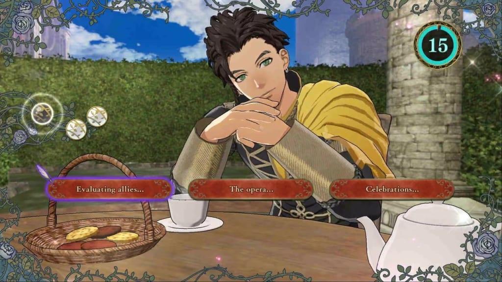 Fire Emblem: Three Houses - Claude Tea Party Topics