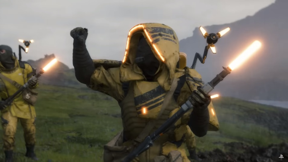 Image result for death stranding Mules