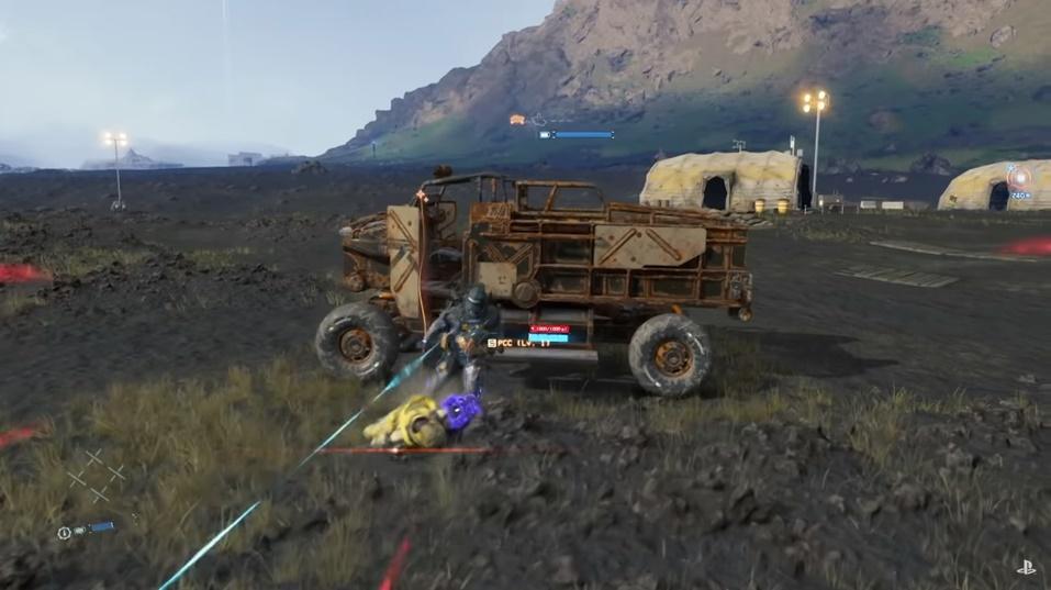 Death Stranding - Combat