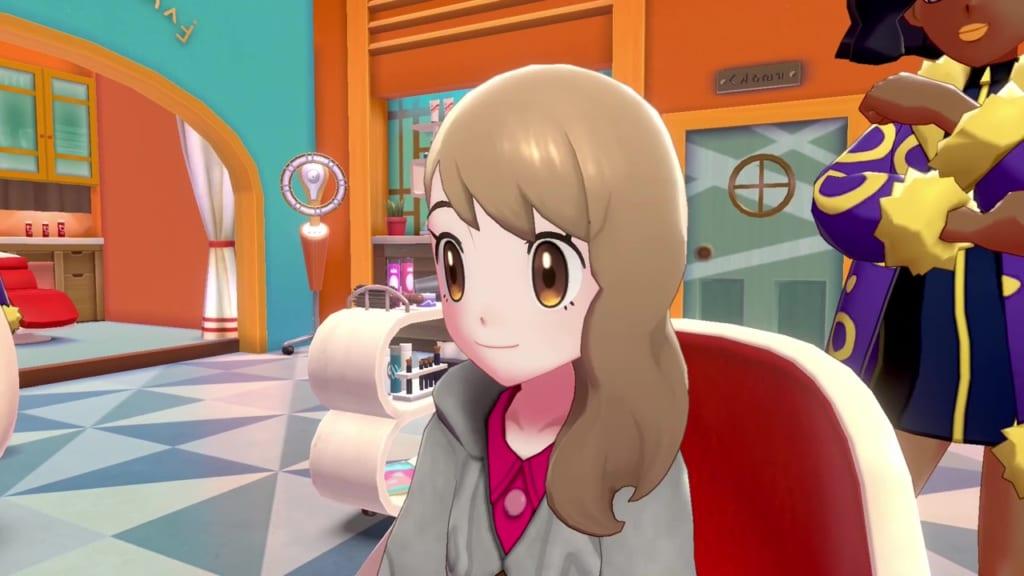 Pokemon Sword and Shield - Hair Salon Guide