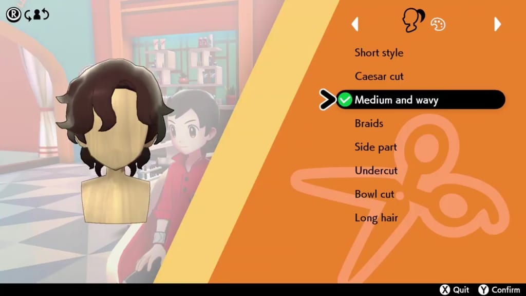 Pokemon Sword and Shield - Hair Salon Guide