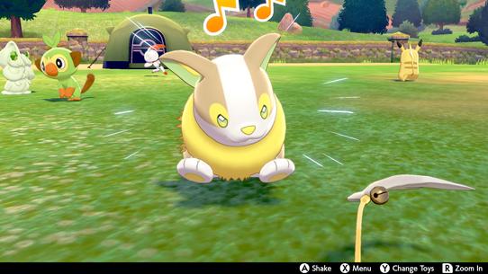 Pokemon Sword and Shield - Pokemon Camp Guide