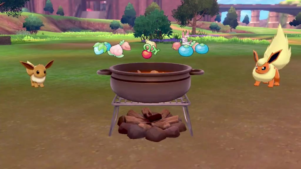 Pokemon Sword and Shield - Curry on Rice