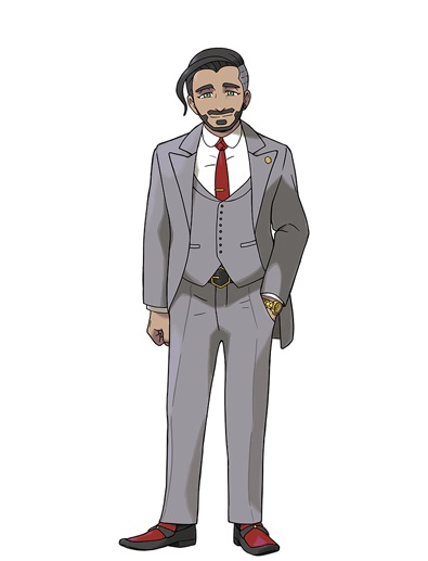 Pokemon Sword and Shield - Chairman Rose