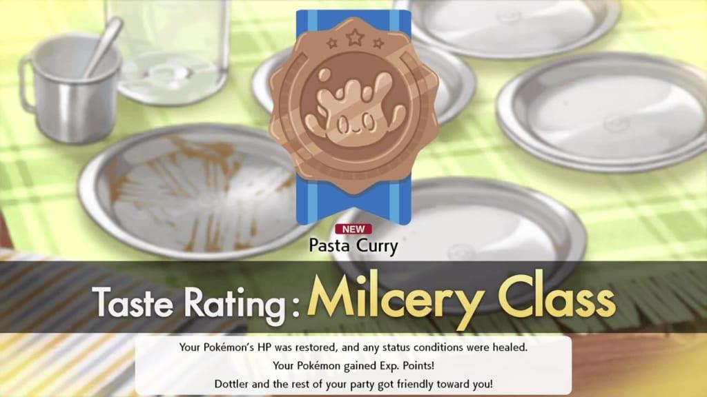 Pokemon Sword and Shield - Milcery Taste Rating