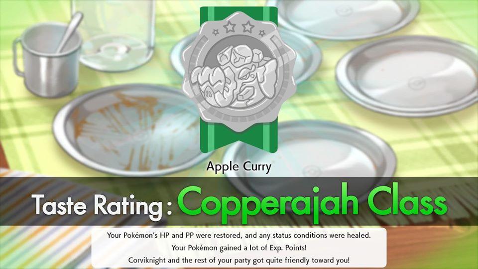 Pokemon Sword and Shield - Copperajah Taste Rating