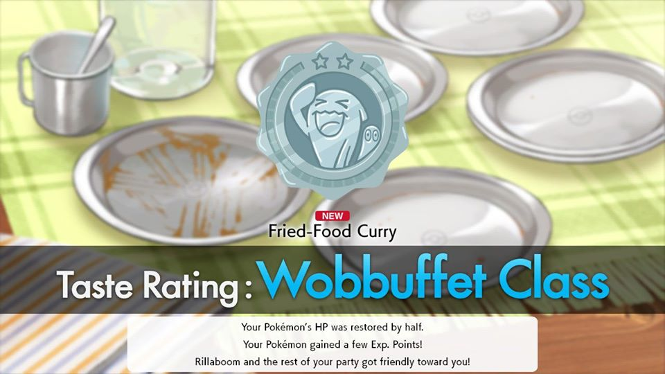Pokemon Sword and Shield - Wobbuffet Taste Rating