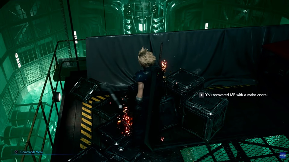 Final Fantasy 7 Remake - Currently Revealed Exploration Mechanics