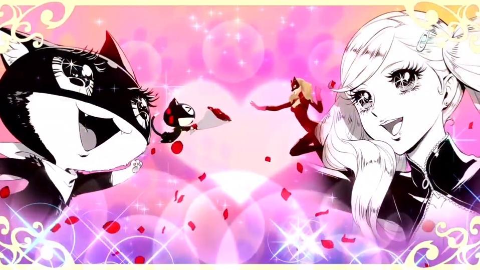 Persona 5 / Persona 5 Royal - Morgana and Ann Showtime Attack