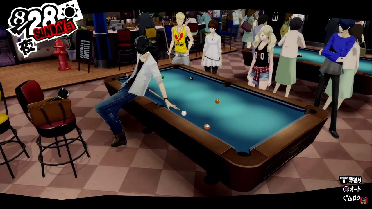 Persona 5 Royal - Billiards Mini-Game Guide