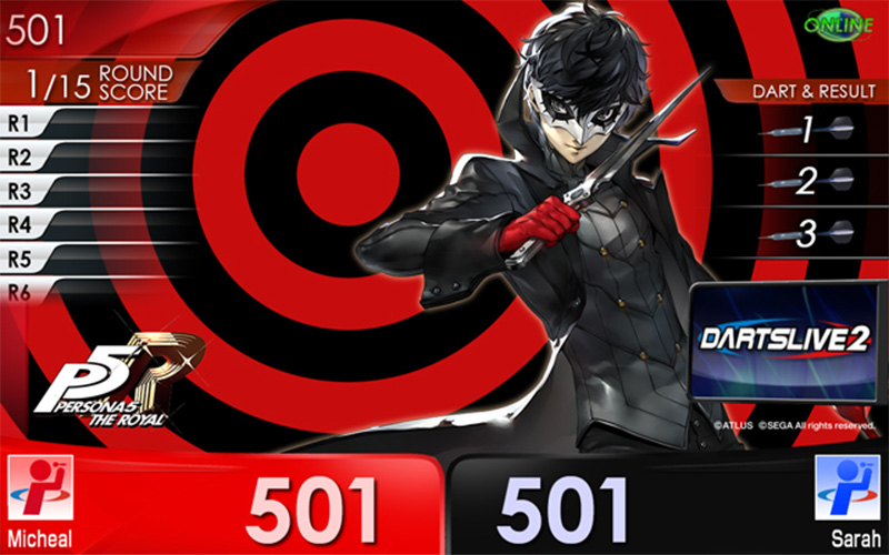 Persona 5 Royal - Dartslive Collaboration Event
