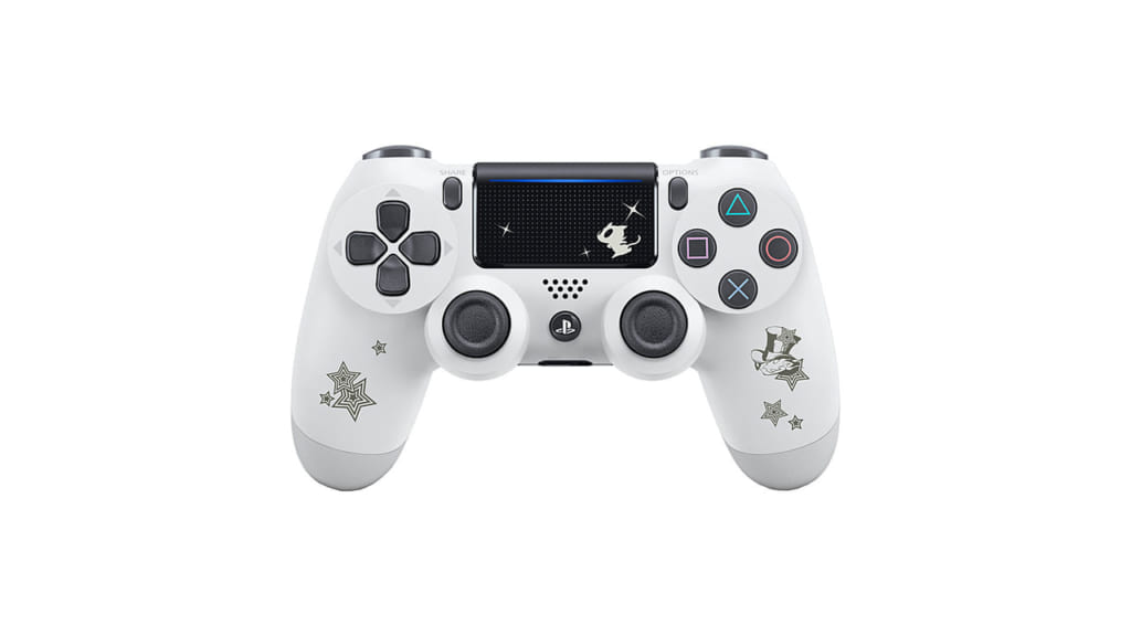 Persona 5 / Persona 5 Royal - Straight Flush Limited Edition PS4 Glacier White DS4 Controller