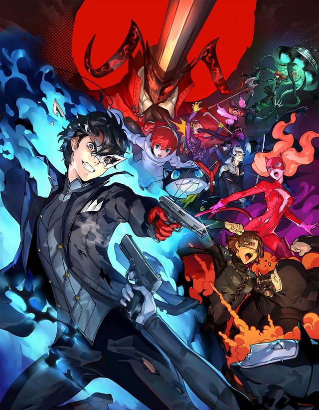 Persona 5 Scramble - Game Cover