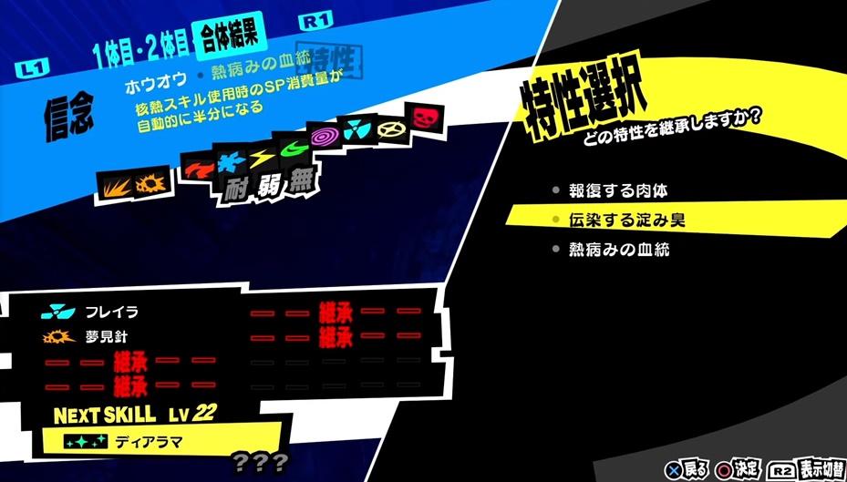 Persona 5 Royal - Persona Special Characteristics