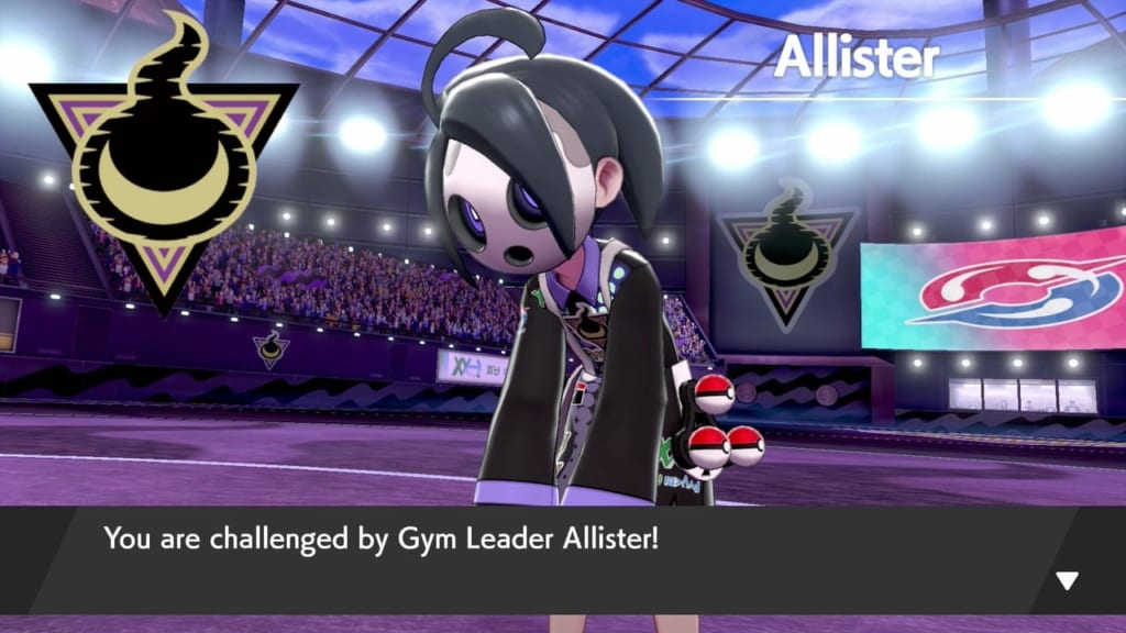 Pokemon Sword and Shield - Gym Leader Allister