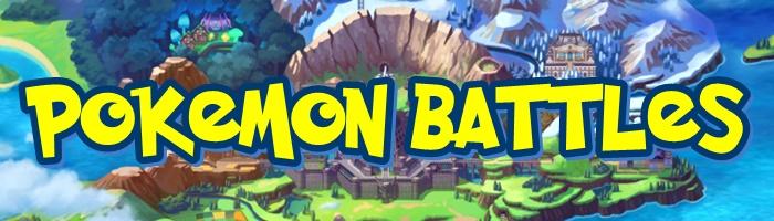 Pokemon Sword and Shield - Pokemon Battles