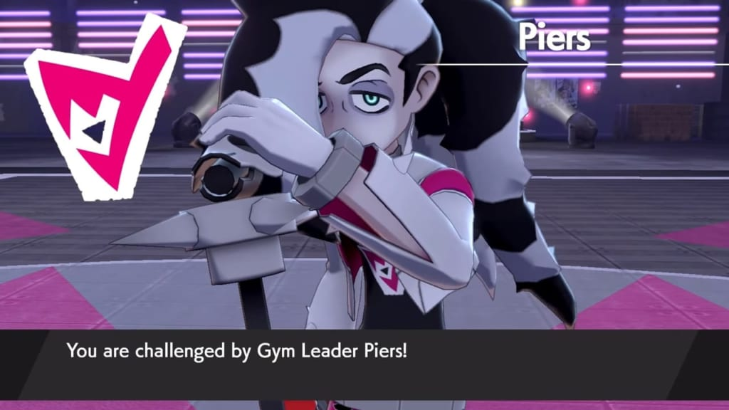Pokemon Sword and Shield - Gym Leader Piers