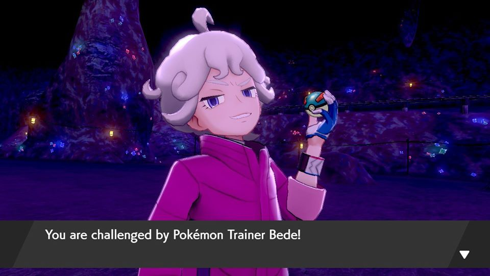 Pokemon Sword and Shield - Galar Mine #2 and Bede Pokemon Battle