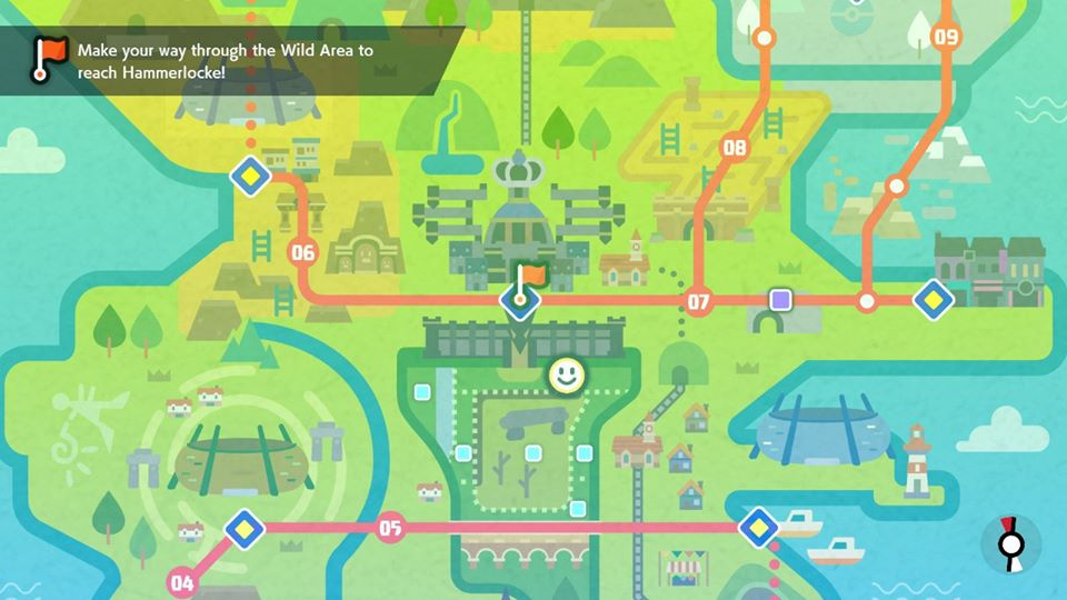 Pokemon Sword and Shield - East Lake Axewell
