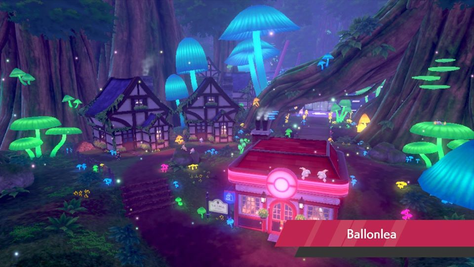 Pokemon Sword and Shield - Ballonlea
