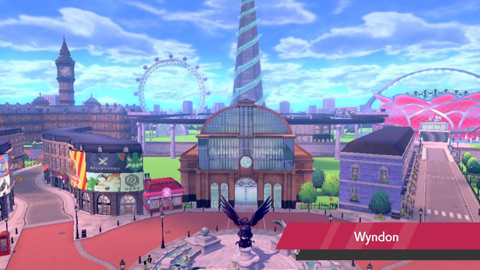 Pokemon Sword and Shield - Wyndon