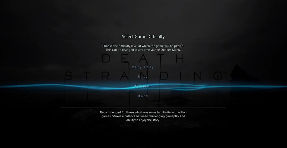 Death Stranding - Game Difficulties