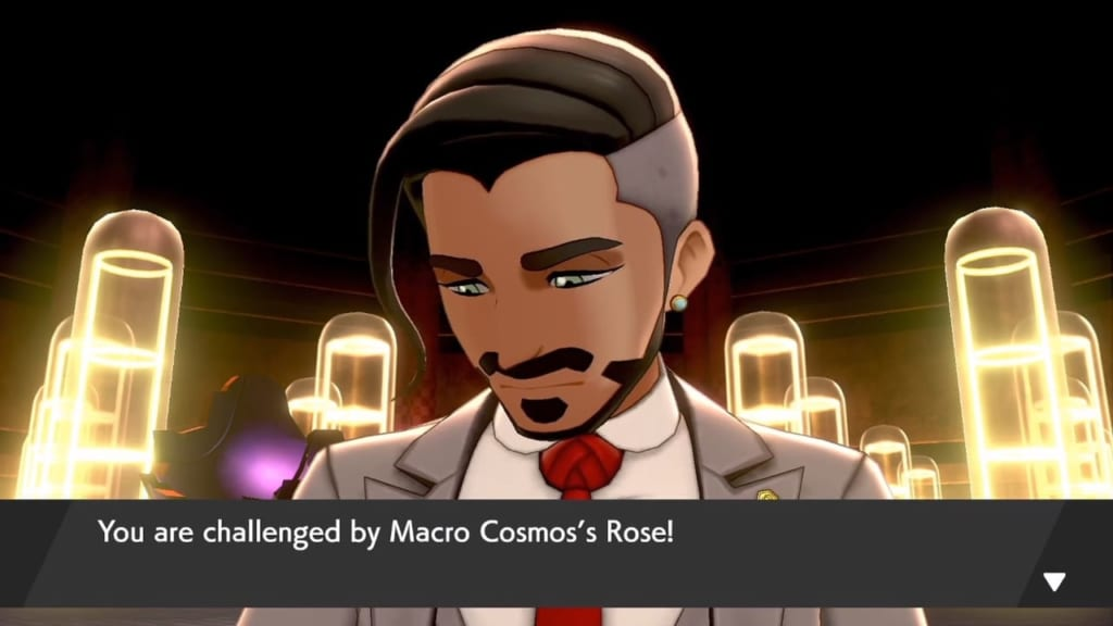 Pokemon Sword and Shield - Energy Plant Chairman Rose