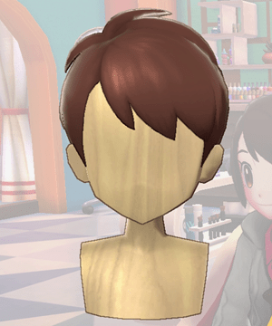 Pokemon Sword and Shield - Hair Salon Pixie Cut Front
