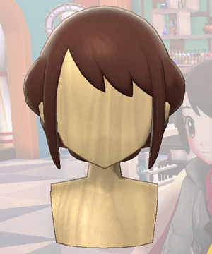 Pokemon Sword and Shield - Hair Salon Romantic Tuck Front