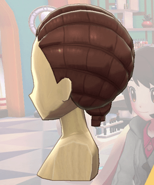 Pokemon Sword and Shield - Hair Salon Braids Side