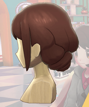 Pokemon Sword and Shield - Hair Salon Romantic Tuck Side