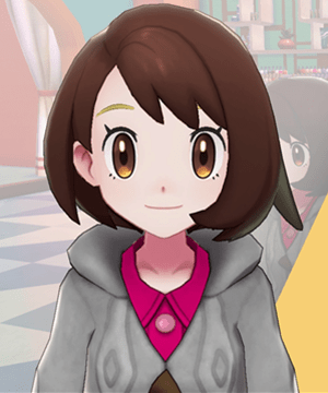 Pokemon Sword and Shield - Hair Salon Eyebrow Tint Gold
