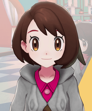Pokemon Sword and Shield - Hair Salon Eyebrow Tint Red
