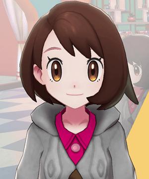 Pokemon Sword and Shield - Hair Salon Eyebrow Tint Pink